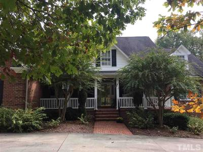 Mebane Single Family Home Pending: 1833 NE Allen Jarrett Drive