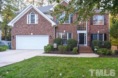 Raleigh Single Family Home Contingent: 8401 Wapello Lane