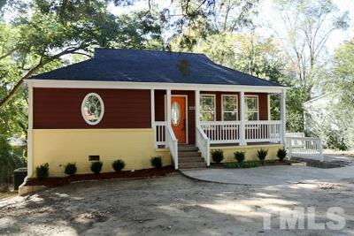 Raleigh Single Family Home For Sale: 2320 Derby Drive
