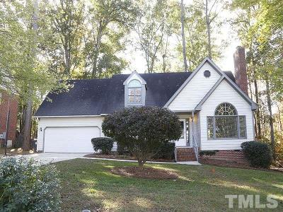 Apex Single Family Home Contingent: 1006 Wellstone Circle