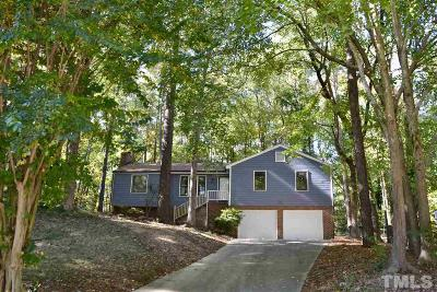 Cary Single Family Home Contingent: 110 Leisure Court