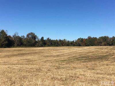 Orange County Residential Lots & Land Contingent: 3600 Nc 57