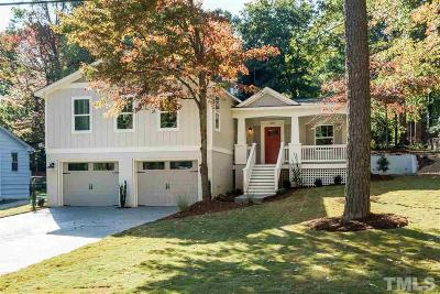 Raleigh Single Family Home Contingent: 315 Glen Valley Drive