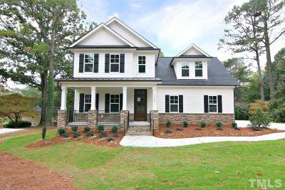 Cary Single Family Home For Sale: 3333 Kildaire Farm Road