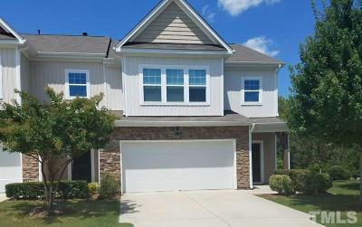 Cary Townhouse Pending: 835 Davidson Point Road #Lot Numb