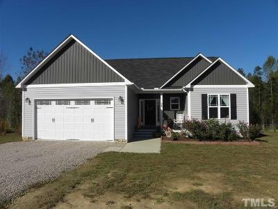 Zebulon Single Family Home Contingent: 24 Gennessee Drive