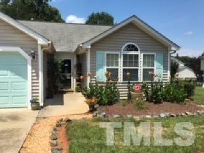 Pittsboro Rental For Rent: 421 Churchwood Drive