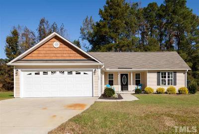 Angier Single Family Home For Sale: 163 Langston Ridge Drive