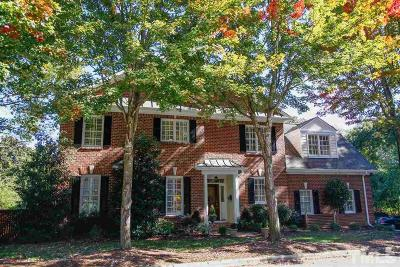 Raleigh Townhouse Contingent: 838 Gaston Wood Court