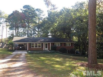 Raleigh Multi Family Home Contingent: 1208 Old Trinity Circle