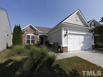 Cary Single Family Home Contingent: 136 Arvind Oaks Circle
