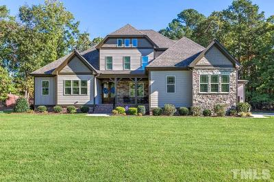 Wake Forest Single Family Home For Sale: 5021 Grove Crossing Way