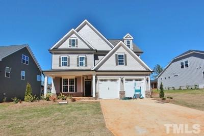 Holly Springs Single Family Home For Sale: 2805 Mills Lake Wynd