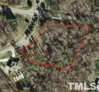 Wake County Residential Lots & Land For Sale: 9612 Koupela Drive