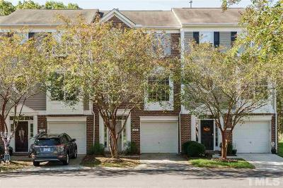 Raleigh Townhouse For Sale: 5434 Echo Ridge Road