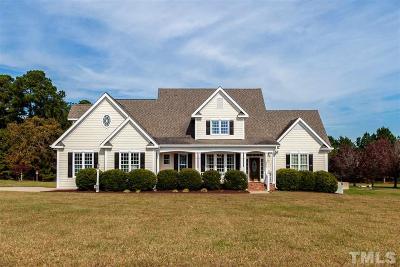 Zebulon Single Family Home For Sale: 2615 Winter Storm Road