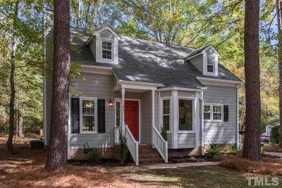 Apex Single Family Home For Sale: 2844 Thurrock Drive