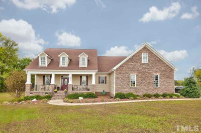 Harnett County Single Family Home For Sale: 282 Regal Crest Drive