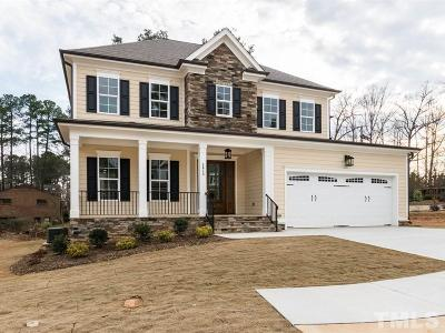 Raleigh Single Family Home For Sale: 4613 Pleasant Pointe Way