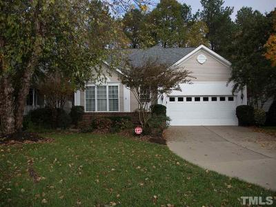 Wake County Single Family Home Contingent: 417 Knotts Valley Lane