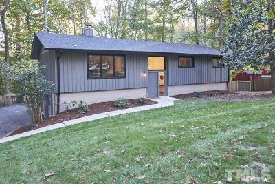 Durham Single Family Home Contingent: 2605 Tanglewood Drive