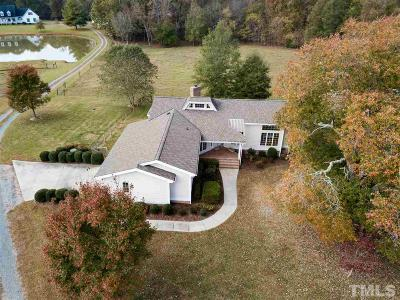 Oxford Single Family Home Contingent: 7619 Nc 96 Highway
