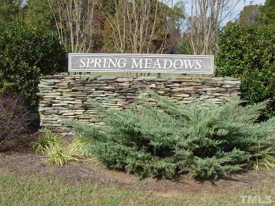 Orange County Residential Lots & Land For Sale: Lot #5 Spring Meadows Road