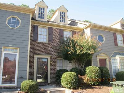 Raleigh Townhouse Contingent: 2949 Faversham Place
