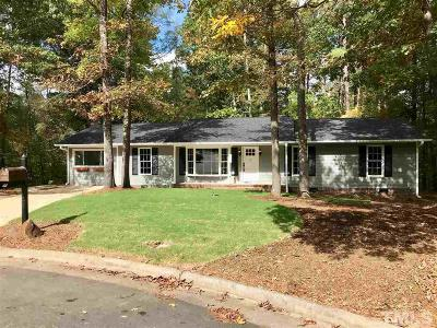 Durham Single Family Home For Sale: 41 Burgess Lane