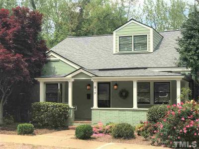 Raleigh Single Family Home For Sale: 519 E Lane Street