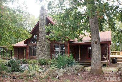 Chapel Hill Single Family Home For Sale: 1328 Crawford Dairy Road