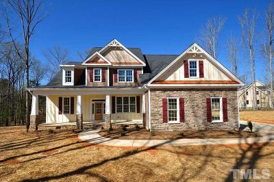 Pittsboro Single Family Home For Sale: 1321 Cedar Grove Road