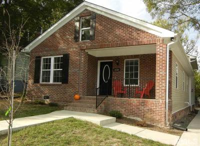 Durham Single Family Home For Sale: 2402 Green Street