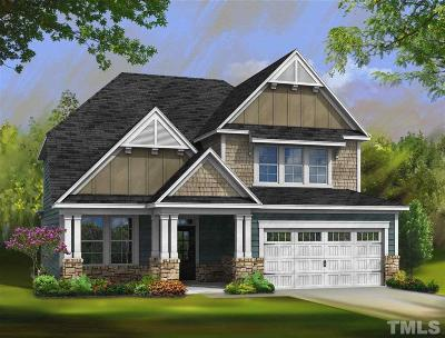 Wake County Single Family Home For Sale: 2035 Travern Drive #Lot 34