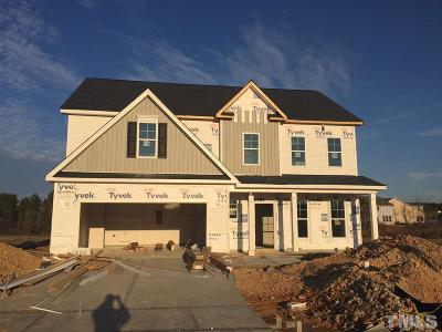 Zebulon Single Family Home For Sale: 2529 Cattail Pond Drive