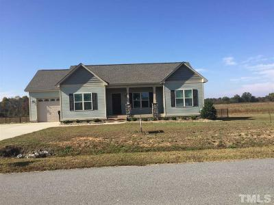 Johnston County Single Family Home For Sale: 86 Cider Court