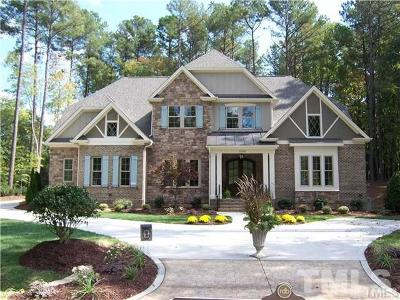 Raleigh Single Family Home For Sale: 12340 The Gates Drive