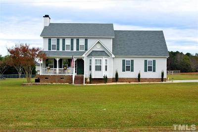 Wendell Single Family Home Contingent: 1333 Lake Wendell Road