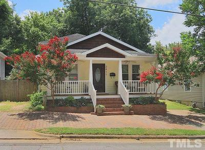 Raleigh Single Family Home For Sale: 2411 Bedford Avenue