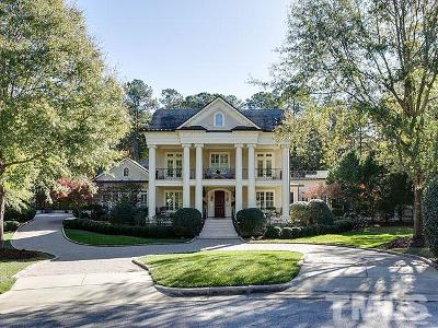 Raleigh Single Family Home For Sale: 8816 Valentine Court