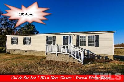 Johnston County Manufactured Home For Sale: 119 Wade Drive