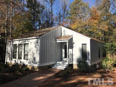 Pittsboro Single Family Home For Sale: 15 Matchwood