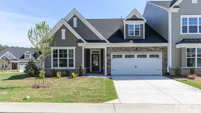 Cary Townhouse For Sale: 705 Chelsea Grove Drive
