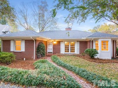 Raleigh Single Family Home For Sale: 2700 St Marys Street