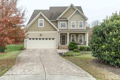 Knightdale Single Family Home For Sale: 1002 Queens Carriage Court