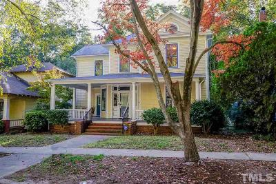 Raleigh Single Family Home For Sale: 1005 W Lenior Street