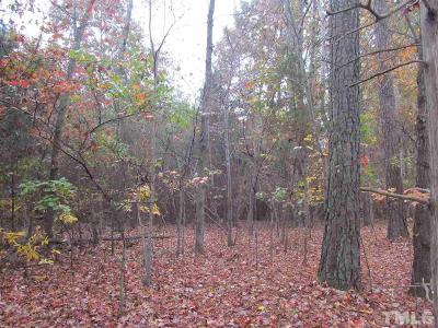Orange County Residential Lots & Land For Sale: 1103 Eubanks Road
