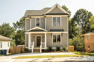 Durham Single Family Home For Sale: 107 W Enterprise Street