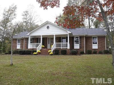 Wake County Single Family Home For Sale: 11625 Louisburg Road