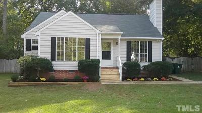 Holly Springs Single Family Home Contingent: 240 Steeple Road